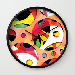 pattern of melody  Wall Clock