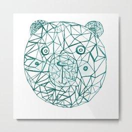 Bear Power  Metal Print