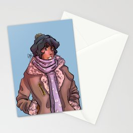 Cozy Ghost King Stationery Cards
