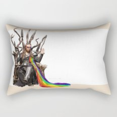Commander Lexa - The 100 Rectangular Pillow