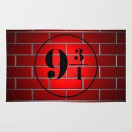 peron brick wall Rug