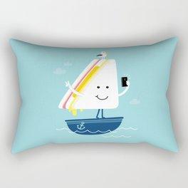 Sail-Free Rectangular Pillow