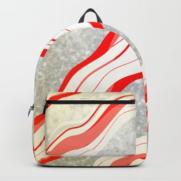Glitter Candy Canes Backpack