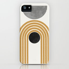 Abstract Rainbow Graphic iPhone Case