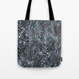 Busy Forest Print Tote Bag