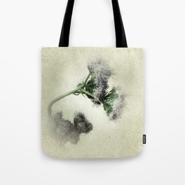 Praxelis Purple Wildflowers Tote Bag