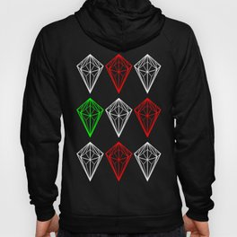 Diamonds Rubies and sapphire Hoody