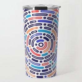 circular pattern Travel Mug