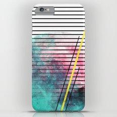 Minimal Stripes Cotton Candy Paint iPhone 6 Plus Slim Case