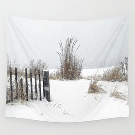 Snow and Sand Wall Tapestry