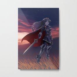 Daughter of Dragons Metal Print