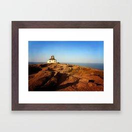 Cape Spear, Newfoundland Framed Art Print