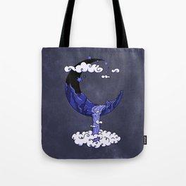 Moon Storm Tote Bag