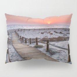 """""""To the beach...""""Cabo de Gata"""". Pillow Sham"""