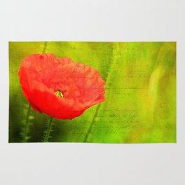 Summer Poppy Rug