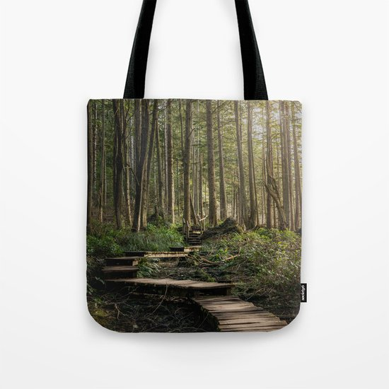 Adventure Nature Path Tote Bag