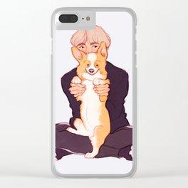 Tae + Chopa Clear iPhone Case