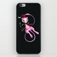 mew iPhone & iPod Skins featuring Doctor Mew by Psyconorikan
