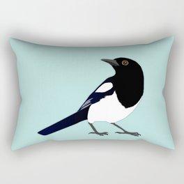 Magpie vector Rectangular Pillow