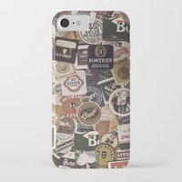 coasters iPhone & iPod Cases featuring Beer by Nicklas Gustafsson