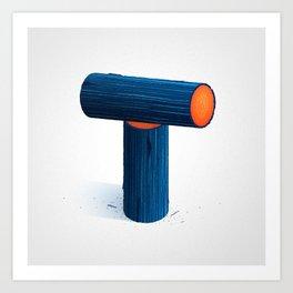 The Letter T Art Print