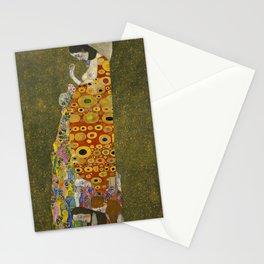 Gustav Klimt - Hope II Stationery Cards