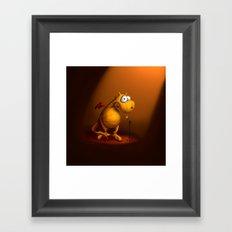 Singing Dragon Framed Art Print