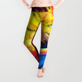 Dancing on the rainbow Leggings