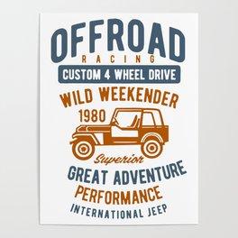 offroad racing wild weekender Poster