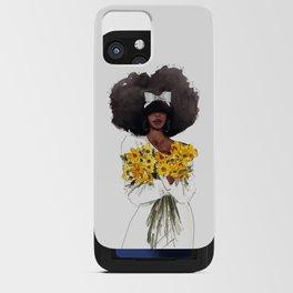 Sunflower  iPhone Card Case