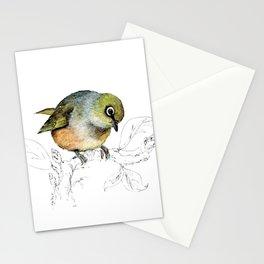 Sylvereye - Waxeye bird Stationery Cards