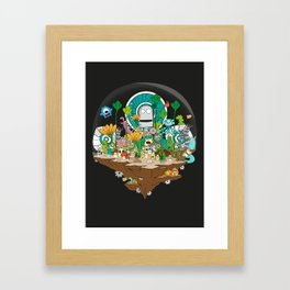Monsterland Framed Art Print