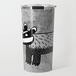 Badger Looking Cool Travel Mug