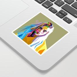 Billie Eilish - pop art Sticker