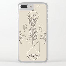Eye Altar Clear iPhone Case