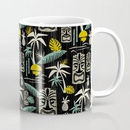 Island Tiki - Black Coffee Mug