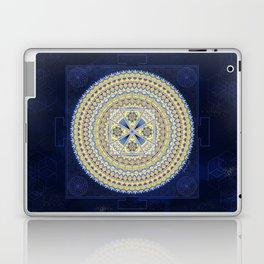 Sacred Geometry Mandala: Introspection Laptop & iPad Skin