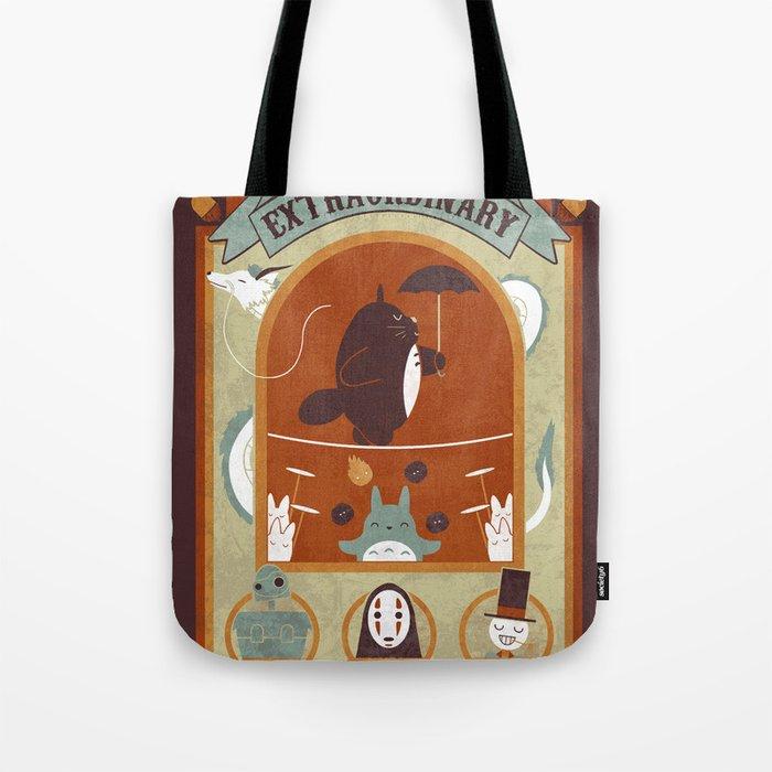 The Moving Circus Tote Bag