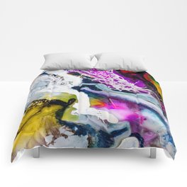 Abstract Melt V Comforters