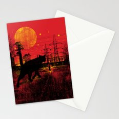 Cleo in the Dark Stationery Cards