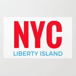 NYC Liberty Island Rug