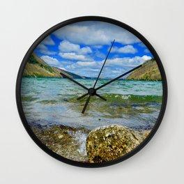 Lake Willoughby Wall Clock