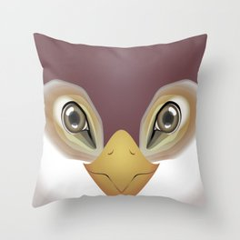 2D Bird 1 Throw Pillow