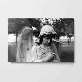 Weeping Angel Metal Print