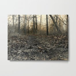 Into the Brush Metal Print