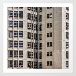 Cape Town Windows #1 Art Print