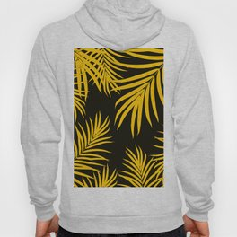 Palm Leaves Pattern Yellow Vibes #1 #tropical #decor #art #society6 Hoody