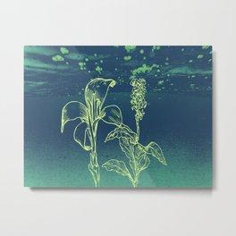 Blommor Metal Print