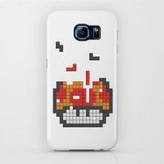 Super Mario Mushroom Tetris Galaxy S7 Slim Case
