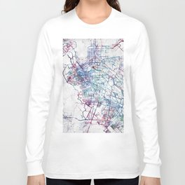 El Paso map Long Sleeve T-shirt
